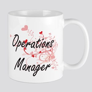 Operations Manager Artistic Job Design with H Mugs