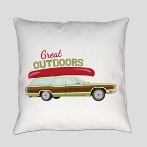 Great Outdoors Everyday Pillow
