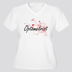 Optometrist Artistic Job Design Plus Size T-Shirt