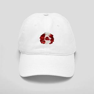 Canada Flag Ice Cream Cap