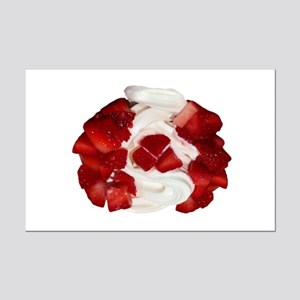 Canada Flag Ice Cream Mini Poster Print