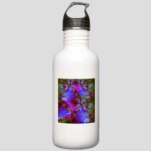 Dragonfly Hippy Flit Stainless Water Bottle 1.0L