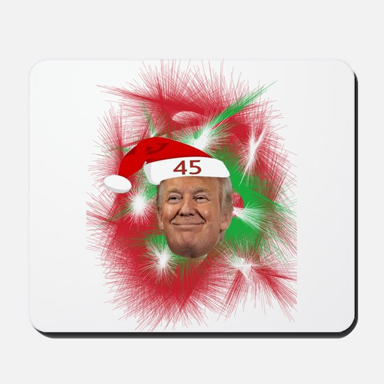 CHRISTMAS TRUMP Mousepad