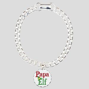 Papa Elf Charm Bracelet, One Charm