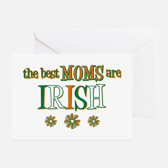 Irish Moms Greeting Card