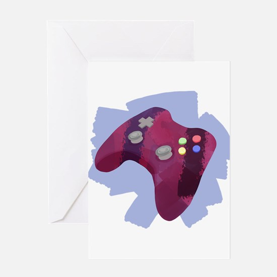 Controller Greeting Cards