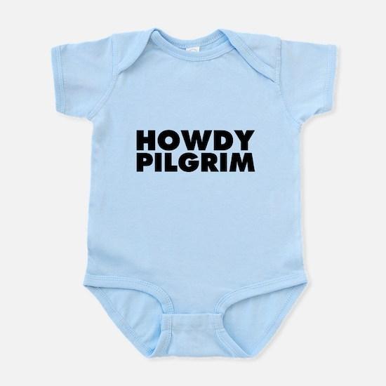 Howdy Pilgrim Infant Bodysuit