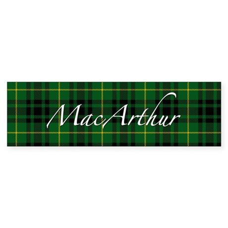 Clan Arthur - Just Tartan Bumper Sticker