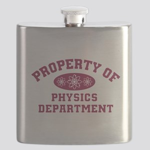 Property Of Physics Department Flask