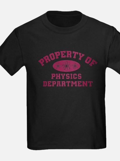 Property Of Physics Department T-Shirt
