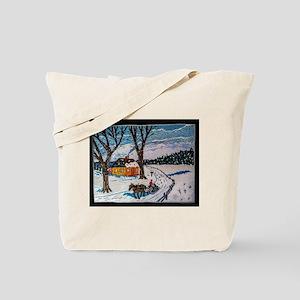 Firewood Ride Tote Bag