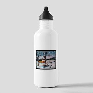 Firewood Ride Water Bottle