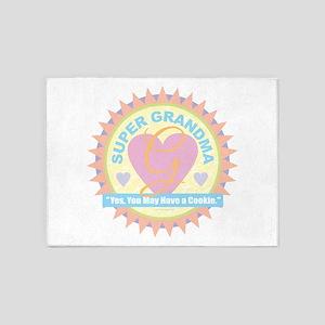 Super Grandma 5'x7'Area Rug