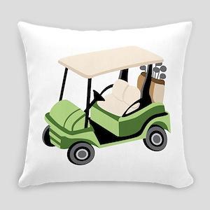 Golf Cart Everyday Pillow