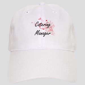 Catering Manager Artistic Job Design with Hear Cap