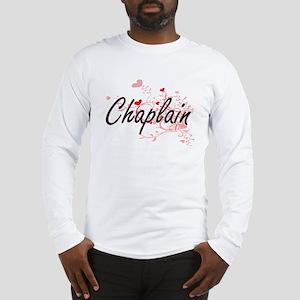 Chaplain Artistic Job Design w Long Sleeve T-Shirt