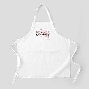 Chaplain Artistic Job Design with Hearts Apron