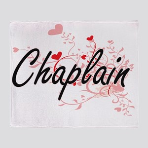 Chaplain Artistic Job Design with He Throw Blanket