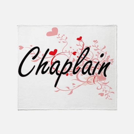 Chaplain Artistic Job Design with He Throw Blanket