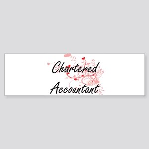 Chartered Accountant Artistic Job D Bumper Sticker