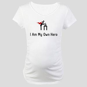 Cake Making Hero Maternity T-Shirt