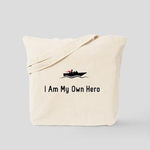 Boating Hero Tote Bag