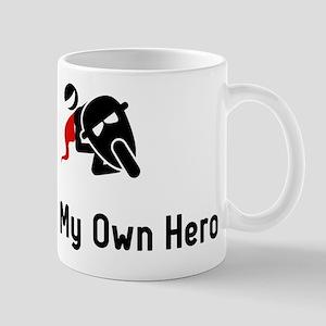 Biking Hero Mug