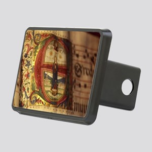 Medieval Manuscript Rectangular Hitch Cover