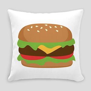 Hamburger Everyday Pillow
