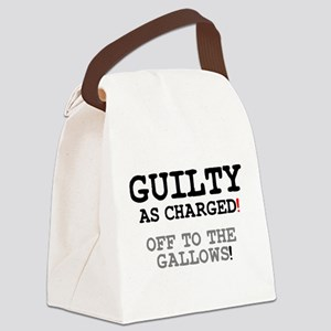 GUILTY AS CHARGED - OFF TO THE GA Canvas Lunch Bag