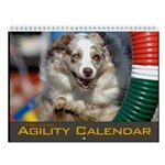 Agility Dog Tire Jump Wall Calendar II