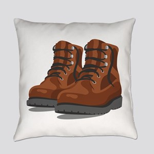 Hiking Boots Everyday Pillow