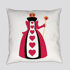 Queen Of Hearts Everyday Pillow