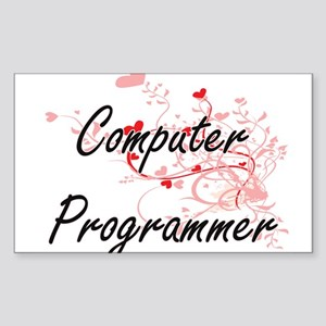 Computer Programmer Artistic Job Design wi Sticker