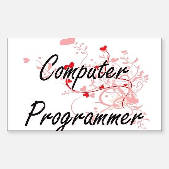 Computer Programmer Artistic Job Design wi Decal