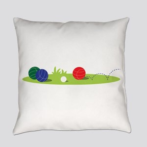 Bocce Ball Game Everyday Pillow