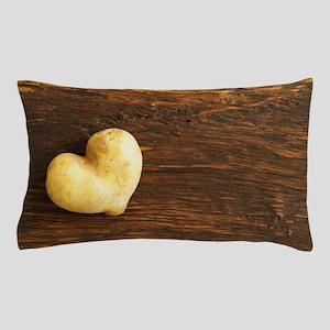 Heart shaped potato Pillow Case