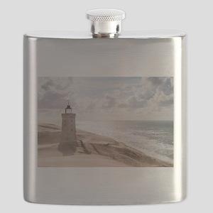 Sandstorm at the lighthouse Flask