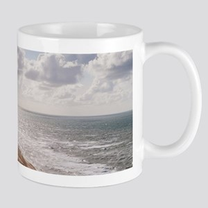 Sandstorm at the lighthouse Mugs