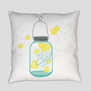LIGHTNING BUGS Everyday Pillow