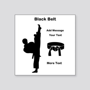 Black Belt Sticker
