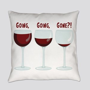 GOING, GOING, GONE?! Everyday Pillow