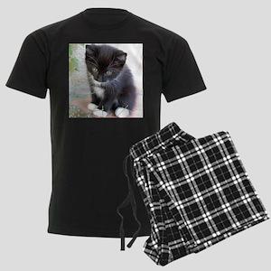 Cat003 Men's Dark Pajamas