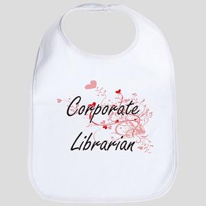 Corporate Librarian Artistic Job Design with H Bib