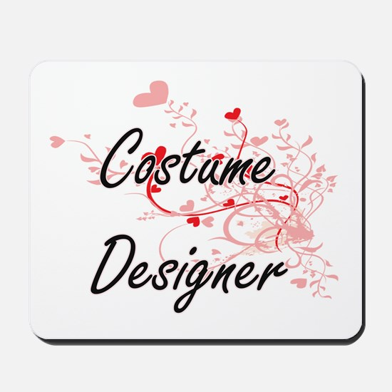 Costume Designer Artistic Job Design wit Mousepad