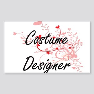Costume Designer Artistic Job Design with Sticker