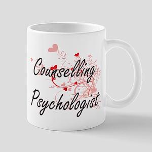 Counselling Psychologist Artistic Job Design Mugs