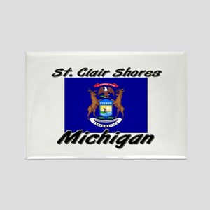 St. Clair Shores Michigan Rectangle Magnet