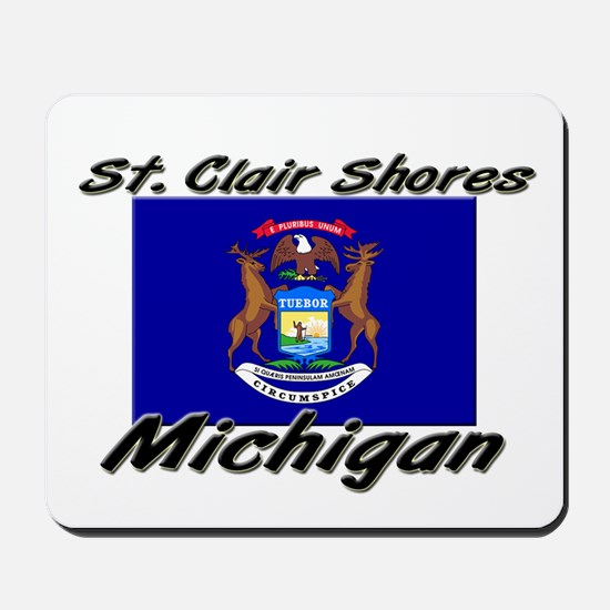 St. Clair Shores Michigan Mousepad