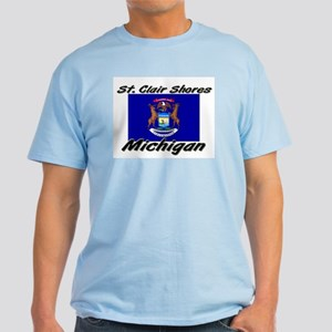 St. Clair Shores Michigan Light T-Shirt